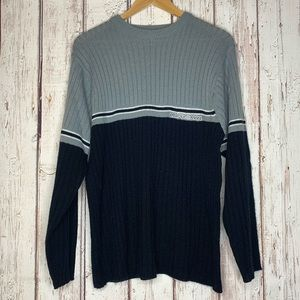 3/$25 US Polo Assn colorblock sweater large